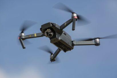 Mavic Pro Quadcopter Drone Is Seen On Flight At The News Photo 1580398817