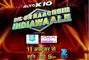 timings for the show dil se naachein IndiaWaale