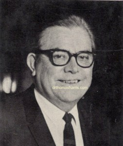 Dr. Thomas A. Harris M.D. photograph from I'm OK - You're OK 1967 Picture