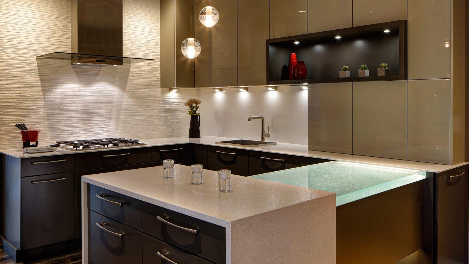 design showroom kitchen and bath design Contemporary Studio Vignette drury design