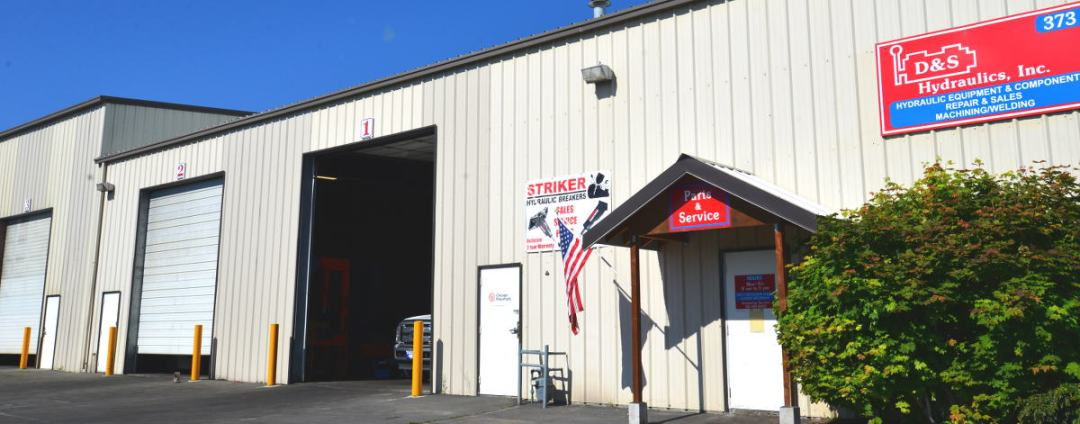D&S Hydraulics complete hydraulic repair and parts facility in Bend