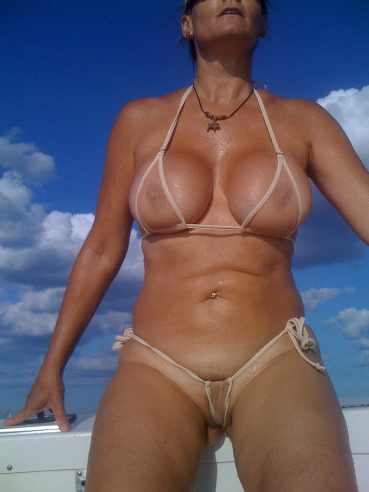 Against. Sexy micro string bikini agree
