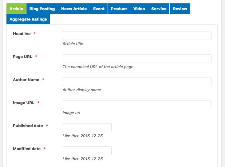 wp seo schema tool
