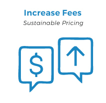 increase your fees