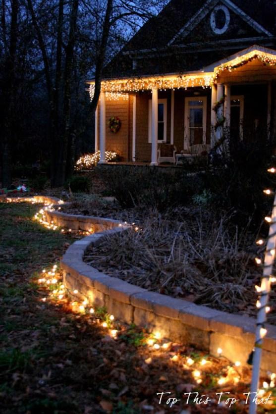 Outdoor Holiday Lighting Ideas Duke Manor Farm