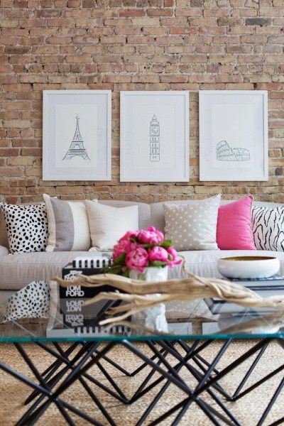 How to use pink in your decor….and make it work