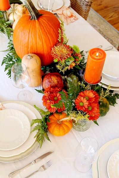 5 Step Thanksgiving Centerpiece