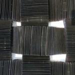 """Sonya Clark, """"Woven Comb Carpet"""""""