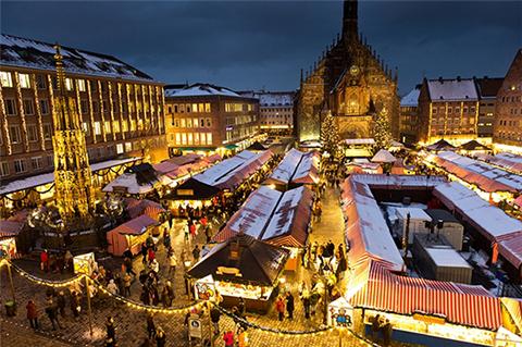 Chợ Giáng sinh Christkindlesmarkt – Đức