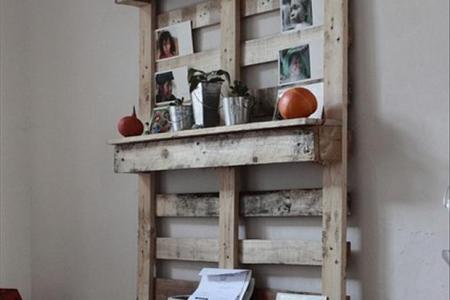 pallet ideas kitchen shelf