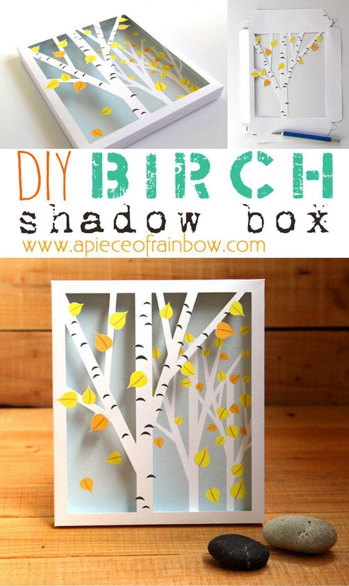 BIRCH SHADOW BOX
