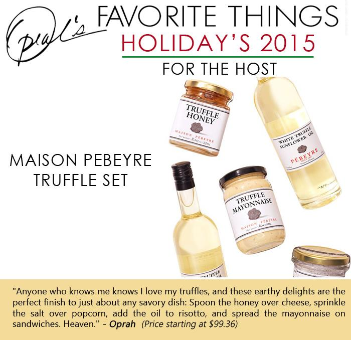 Oprah's Favorite Things - Maison Pebeyre Truffle Set