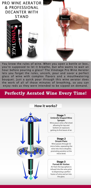 Pro Wine Aerator