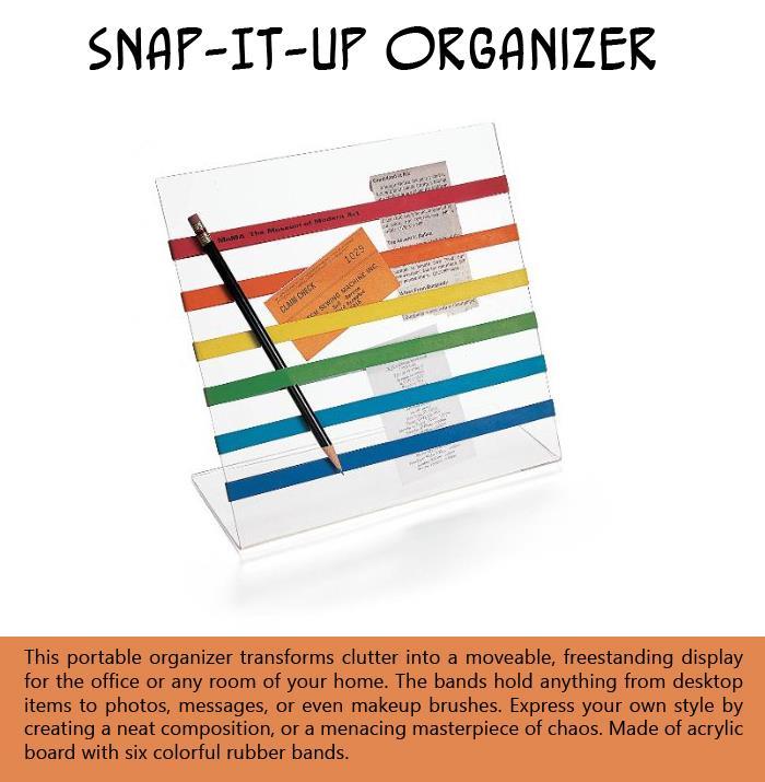 Snap-It-Up Organizer