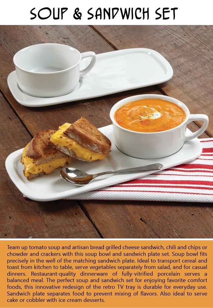 Soup and Sandwich Set