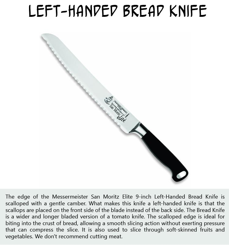 Left-Handed Bread Knife
