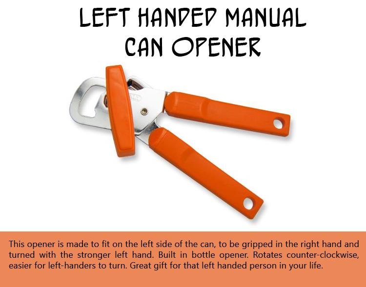 Left Handed Manual Can Opener