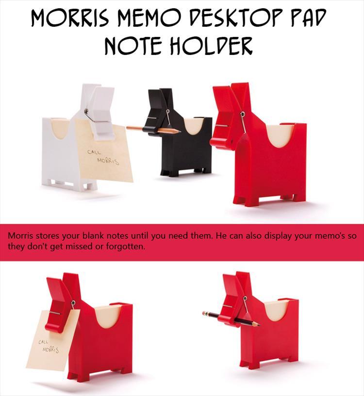 Morris Memo Desktop Pad Note Holder
