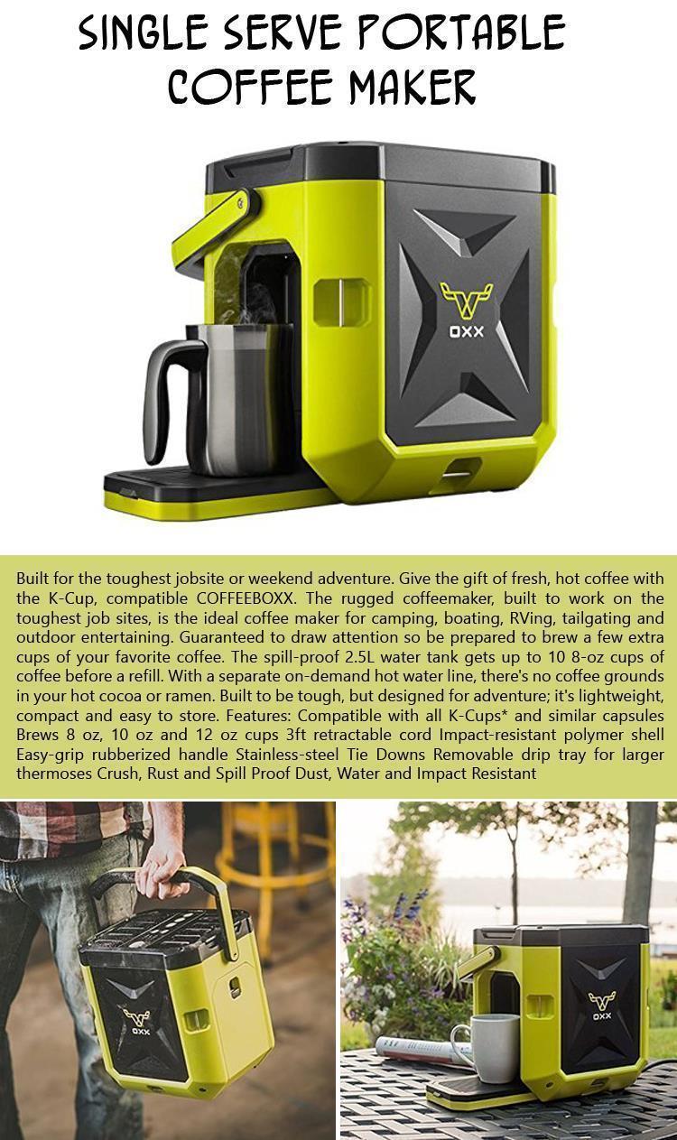 Single Serve Portable Coffee Maker