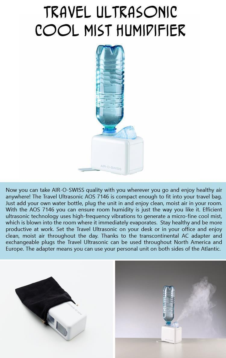 Travel Ultrasonic Cool Mist Humidifier