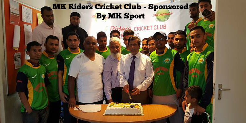 MK Riders Cricket Club – Sponsored By MK Sport
