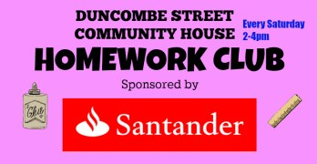 Homework Club – Sponsored By Santander