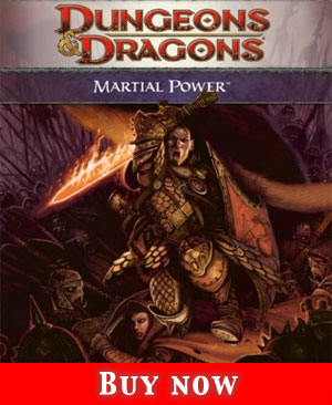 Martial Power for dnd4e