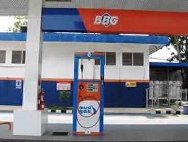 Stasiun Pengisian Bahan Bakar Gas (SPBG).