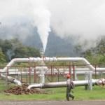 Operasi panas bumi Pertamina.