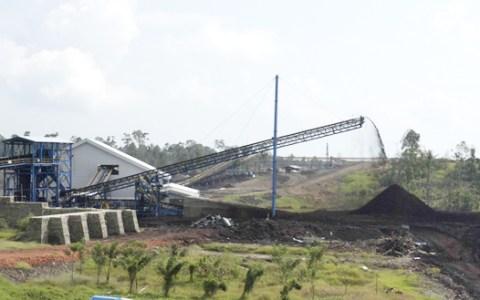 Tambang batubara PT Lamindo Inter Multikon (LIM).