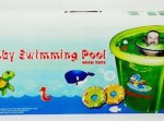 Baby Swimming Pool with Toys Baby Flow