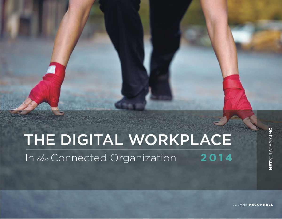 The digital workplace : a reality, a scorecard and many challenges