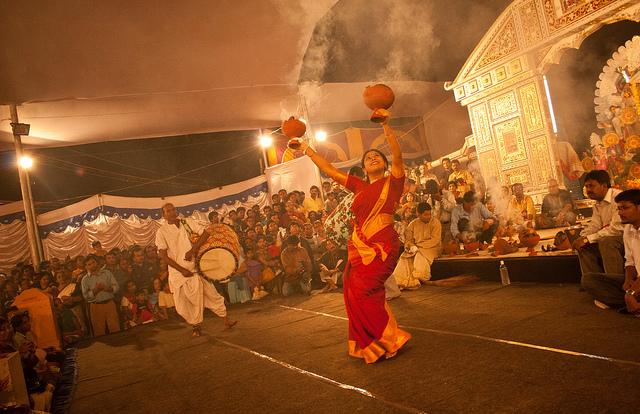 famous durga puja in Bangalore