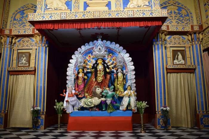 Belur Math Ramkrishna Mission Durga Puja