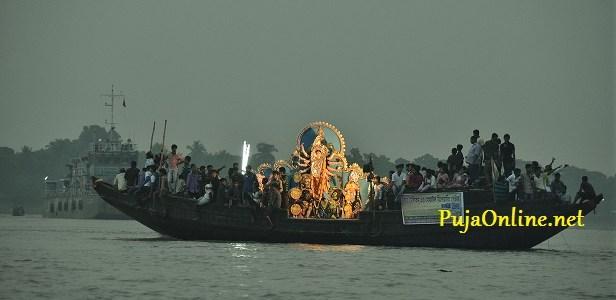 Durga Maa Visarjan Takki