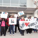 Hillside hosts a rally for public schools