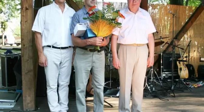 Iš kairės A. Raslanas, V. Repečka, S. Kėblys