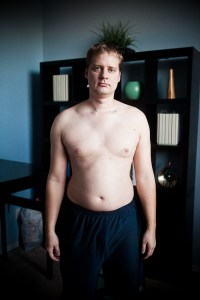 """My """"before"""" picture, back when I hated exercise"""