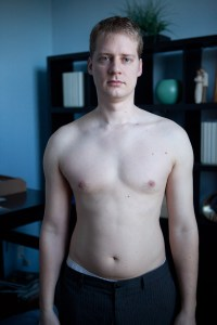 "My ""after"" picture. Nope. Still hated exercise."