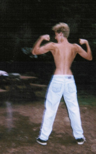 Disgustingly skinny Dustin