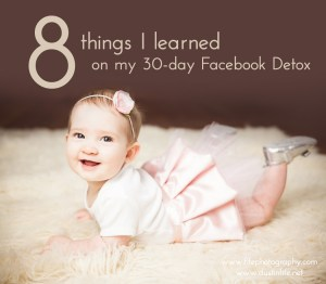 8 things I learned with my 30-day Facebook Detox