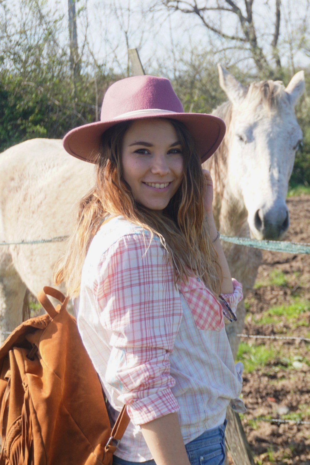 LOOK WESTERN GIRLY COW GIRL CHAPEAU ROSE BLOG MODE BORDEAUX FRANCE CORSE FASHION CENTRE EQUESTRE 18
