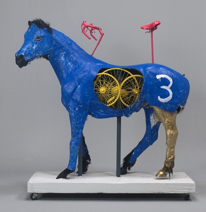 Blue Horse by Bk Adams I Am Art