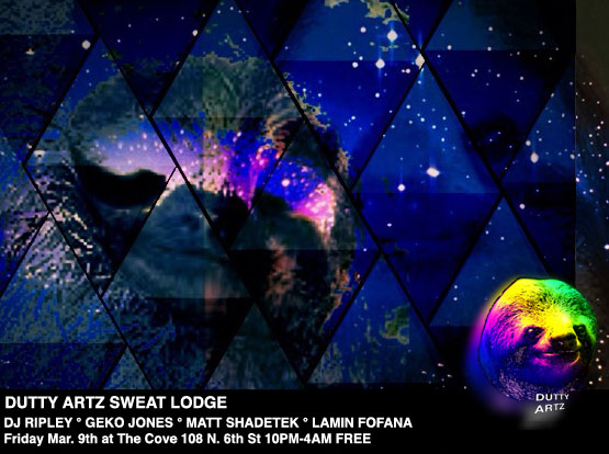 Dutty Artz Sweat Lodge March