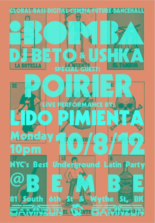 iBomba October 8th with Poirier and Lido Pimienta