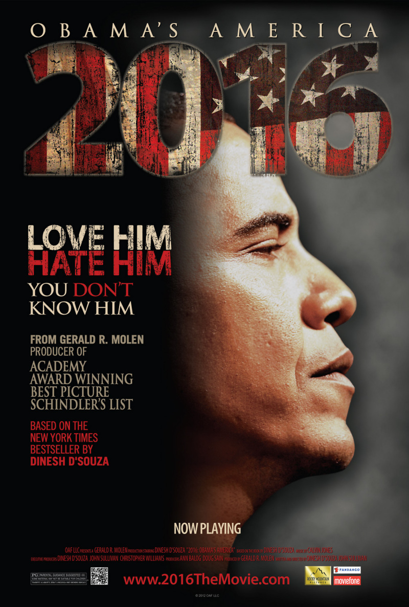 Poster do filme 2016: Obamas America