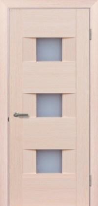 Двери Мюнхен L-21.S беленый дуб