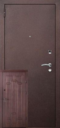 Двери металл+мдф Арка