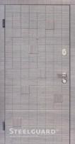 Двери Steelguard Cascade в квартиру серого цвета