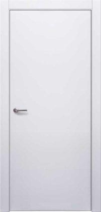 Двери Нордика Дера белая эмаль гладкое